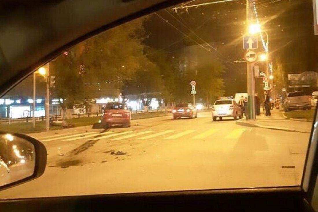 Ночью в Пензе произошла серьезная авария