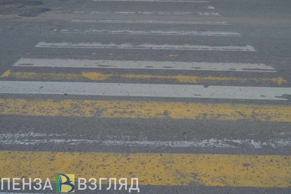 Пензенцы сообщают о сбитом пешеходе на улице Измайлова