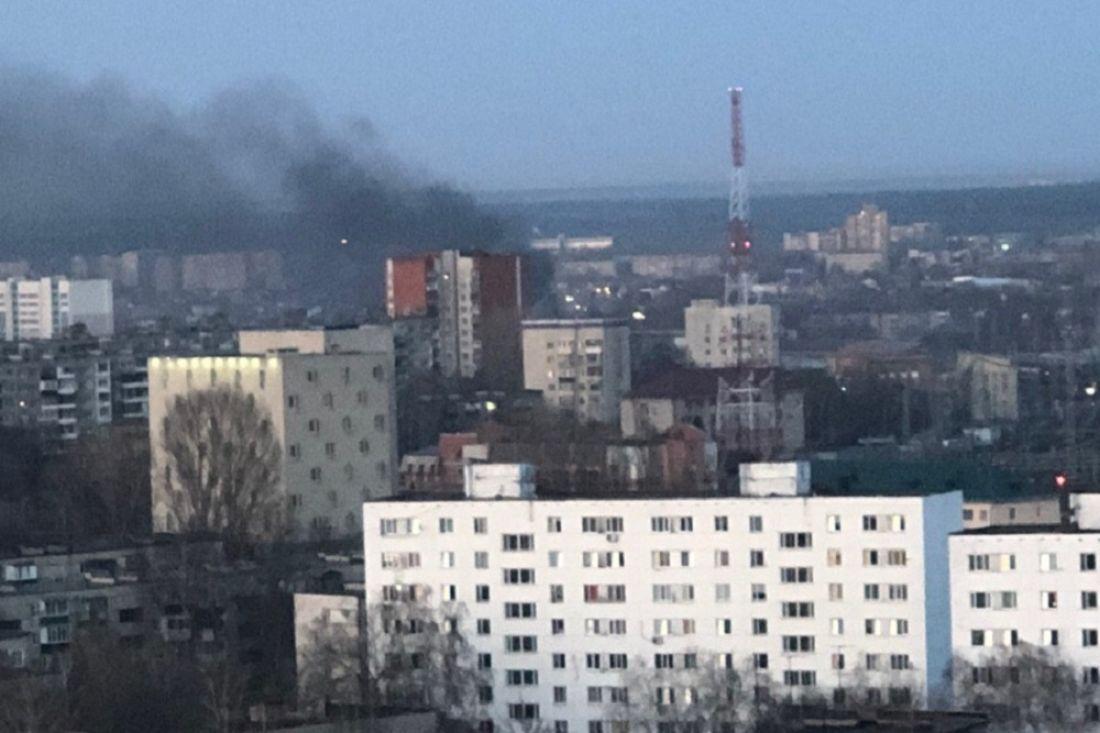 Жителя Пензы встревожил пожар в районе автовокзала