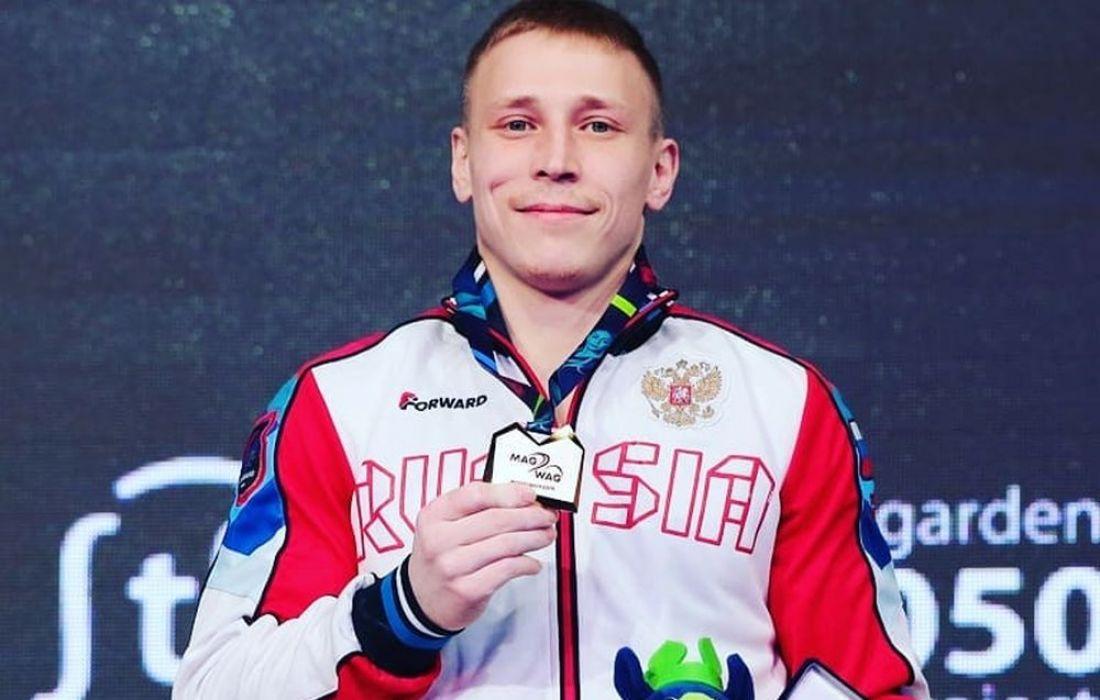 Пензенец Денис Аблязин выиграл вторую золотую медаль на чемпионате Европы