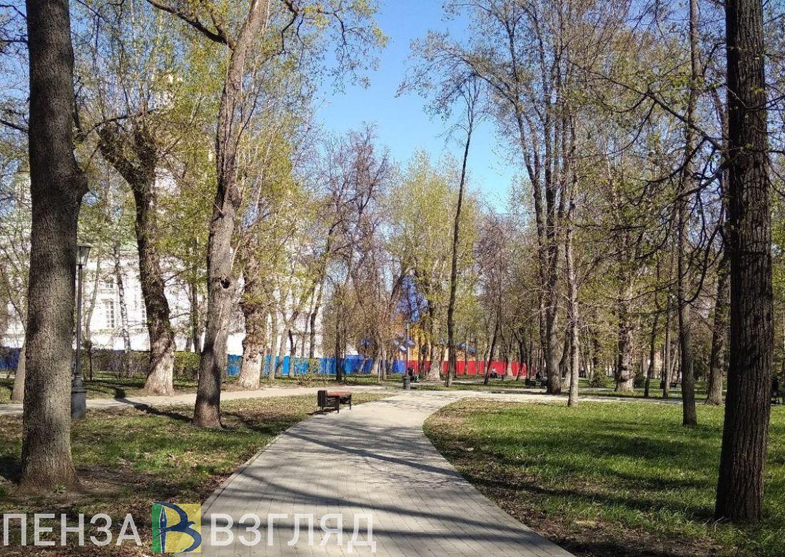 В воскресенье в Пензенской области температура будет колебаться из «минуса» в «плюс»