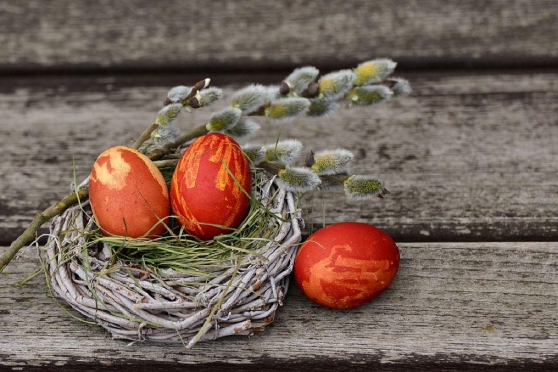 Секреты окраски пасхальных яиц