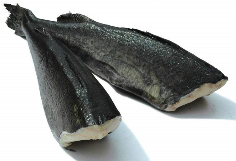 Черная треска или угольная рыба с доставкой на дом